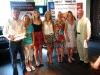 Marathon Relay Presentation - Debbie Matchett, Rachel Gibson, Jessica Craig, Julie Balmer and Ange Perrott